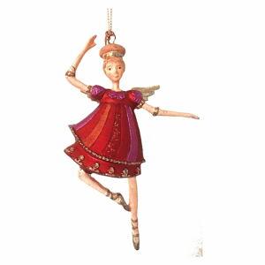 Vánoční závěsná dekorace G-Bork Angelic Ballet Dancer