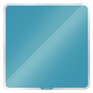 Modrá magnetická skleněná tabule na zeď Leitz Cosy, 45 x 45 cm
