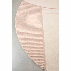 Béžovo-růžový koberec Zuiver Bliss,ø240cm