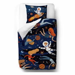 Bavlněné povlečení Mr. Little Fox Space Adventure, 140 x 200 cm