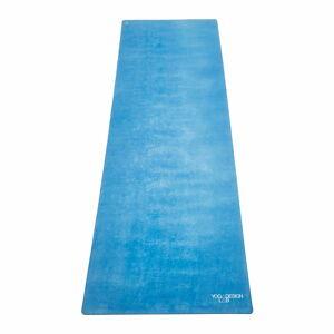 Modrá podložka na jógu Yoga Design Lab Travel Aegean,900g