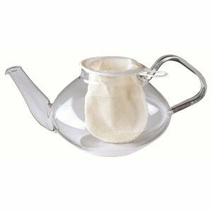 Bílá bavlněná čajová síťka Westmark, ø 7cm