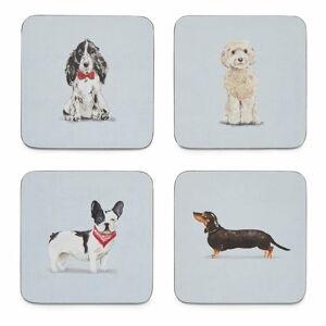 Set 4 podtácků Cooksmart ® Curious Dogs