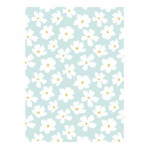 Modro-bílý balící papír eleanor stuart No. 8 Floral