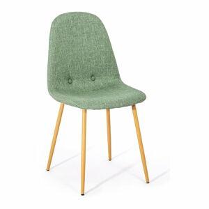 Sada 2 zelenošedých jídelních židlí loomi.design Lissy