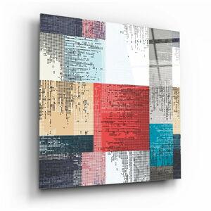 Skleněný obraz Insigne Patchwork,40 x40cm