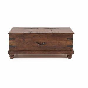 Úložný box z akáciového dřeva WOOX LIVING Traditional India