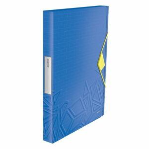 Modrý box na dokumenty Leitz, A4