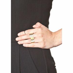 Sada 3 dámských prstenů ve zlaté barvě NOMA Anastacia