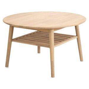 Odkládací stolek z dubového dřeva Canett Martell