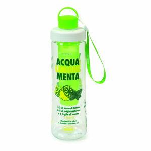 Zelená láhev na vodu s infuzérem Snips Mint,750ml