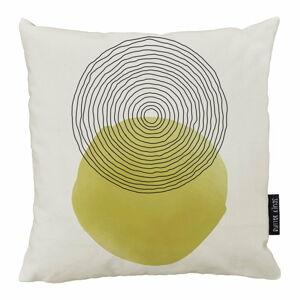 Béžovo-žlutý bavlněný dekorativní polštář Butter Kings Rising Sunny,50x50cm