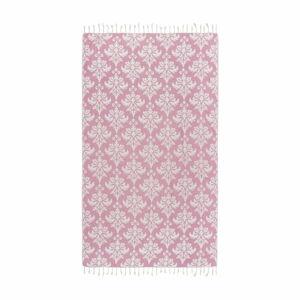 Růžová hammam osuška Kate Louise Serafina, 165x100cm