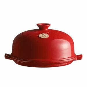 Červená keramická kulatá forma na pečení chleba Emile Henry,⌀28,5cm