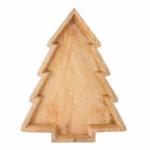Vánoční servírovací podnos ze dřeva mango Bloomingville Ronan