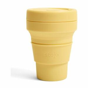 Žlutý skládací termohrnek Stojo Pocket Cup Mimosa, 355 ml