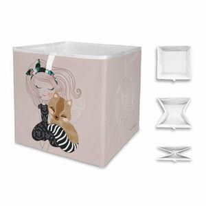 Dětský úložný box Mr. Little Fox Two Princesses