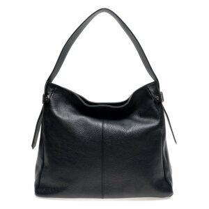Černá kožená kabelka Isabella Rhea