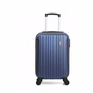 Modré skořepinové zavazadlo na 4 kolečkách Bluestar Lome, 31l
