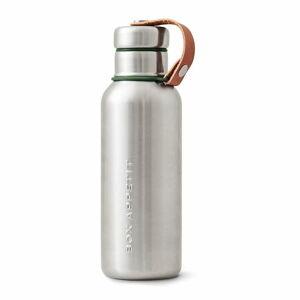Olivově zelená 2stěnná termolahev z nerezové oceli Black+Blum Insulated Vacuum Bottle, 500ml