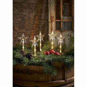 Vánoční venkovní světelná LED dekorace Star Trading Wandy