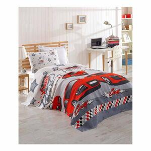 Přehoz přes postel z bavlny Cars, 160 x 235 cm