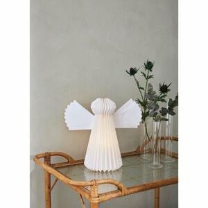 Bílá vánoční světelná dekorace Markslöjd Angel,výška30cm