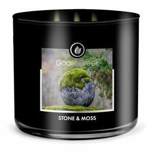 Pánská vonná svíčka v dóze Goose Creek Stone & Moss, 35 hodin hoření