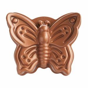 Forma na bábovku ve tvaru motýla v měděné barvě Nordic Ware Butterfly, 2,1 l