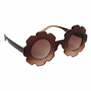 Dámské hnědé sluneční brýle Sunnylife Daisy