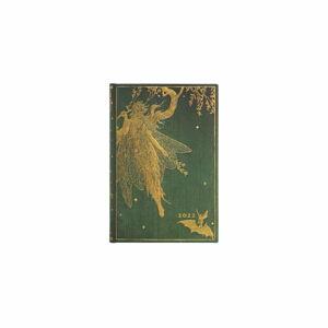 Denní diář na rok 2022 Paperblanks Olive Fairy, 9,8 x 14 cm