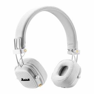 Bílá bezdrátová sluchátka Marshall Major III