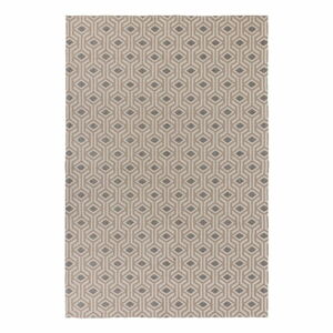Béžovo-šedý bavlněný koberec Flair Rugs Bombax, 153 x 230 cm
