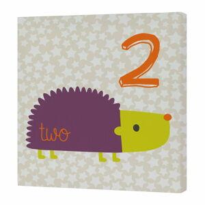 Nástěnný obrázek Baleno Forest Friends Hedgehog, 29,7x42 cm