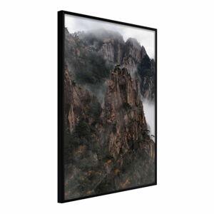 Plakát v rámu Artgeist Mountain Ridge, 30 x 45 cm