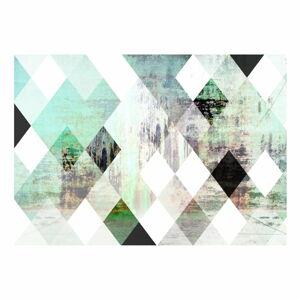 Velkoformátová tapeta Artgeist Forest Rhombic Chessboard ,200x140cm