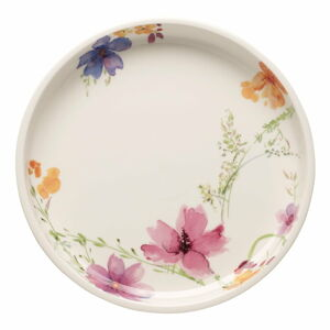 Servírovací porcelánový talíř s motivem květin Villeroy & Boch Mariefleur Basic, ⌀ 26 cm