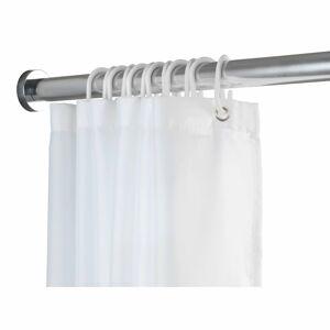 Teleskopická tyč ve stříbrné barvě do koupelny Wenko Luz, délka 110-185 cm