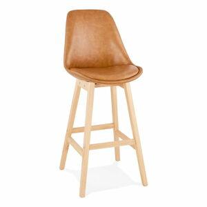 Hnědá barová židle Kokoon Janie, výškasedu75cm