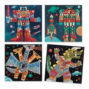 Pestrobarevná mozaika Djeco Vesmírný souboj