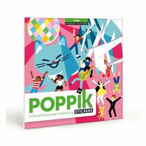 Samolepkové puzzle Poppik Kočičí