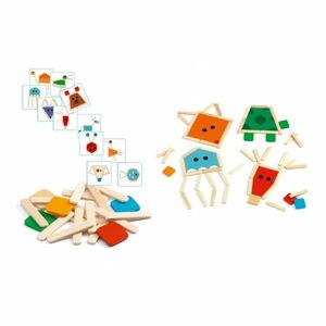 Dětská hra skládání z dřívek Djeco