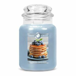 Vonná svíčka ve skleněné dóze Goose Creek Blueberry Pancakes, 150 hodin hoření