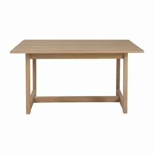 Odkládací stolek z dubového dřeva Canett Binley, 120 x 75 cm