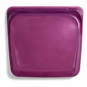 Tmavě fialový svačinový sáček Stasher Sandwich,440ml