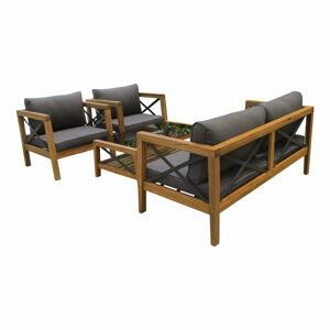 Sada zahradního nábytku z exotického dřeva Ezeis Balthazar