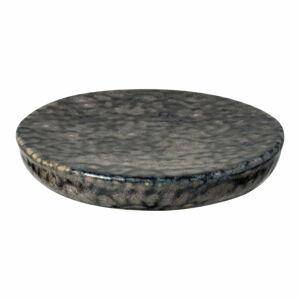 Šedý kameninový tácek Costa Nova Roda Iris, ⌀ 16 cm