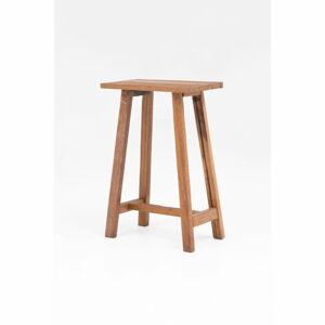 Dřevěná barová stolička WOOX LIVING Clara, výška 75cm