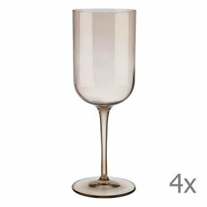 Sada 4 hnědých sklenic na červené víno Blomus Mira, 400 ml
