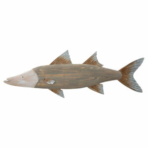 Nástěnná dekorace Mauro Ferretti Fish, 99x33,5cm